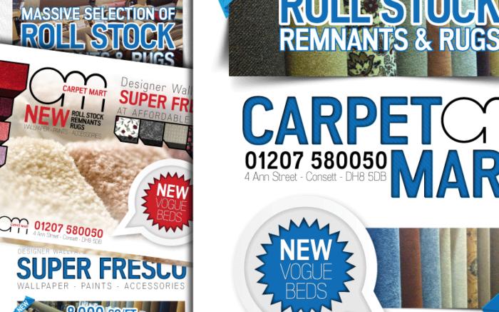 Carpet Mart Graphic Design