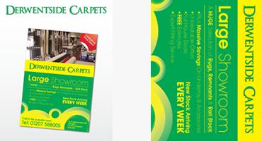 Derwentside Carpets - Advertising and Design