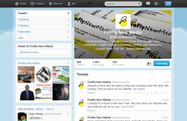 Firefly New Media Twitter