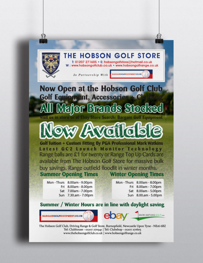 Online Golf Shop