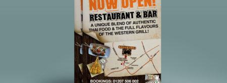 Restaurant Advertising - Flyer Printing
