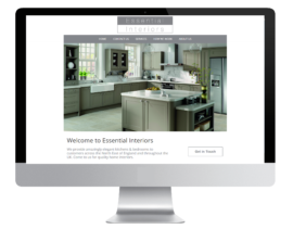 Kitchen Company Web Design