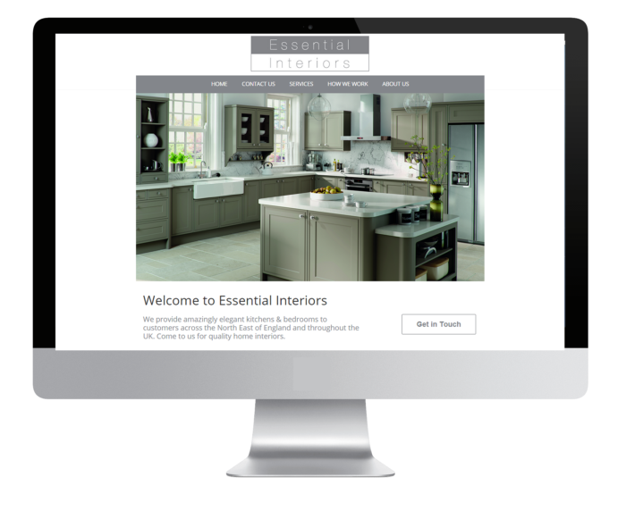 kitchen company web design essential interiors