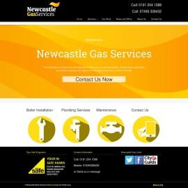 Newcastle Gas Website Design
