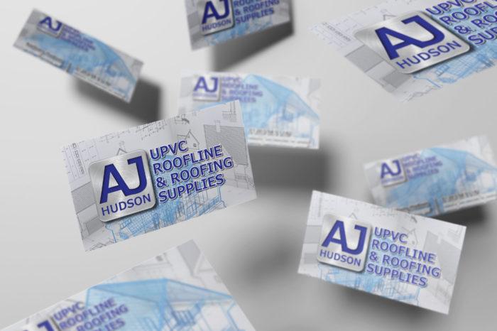AJ Hudson - Business Card Design and Print