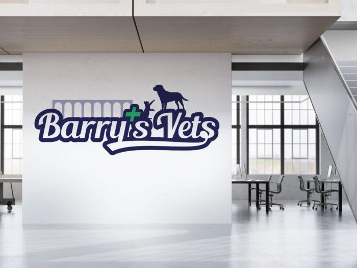 barrys-vets---logo-design
