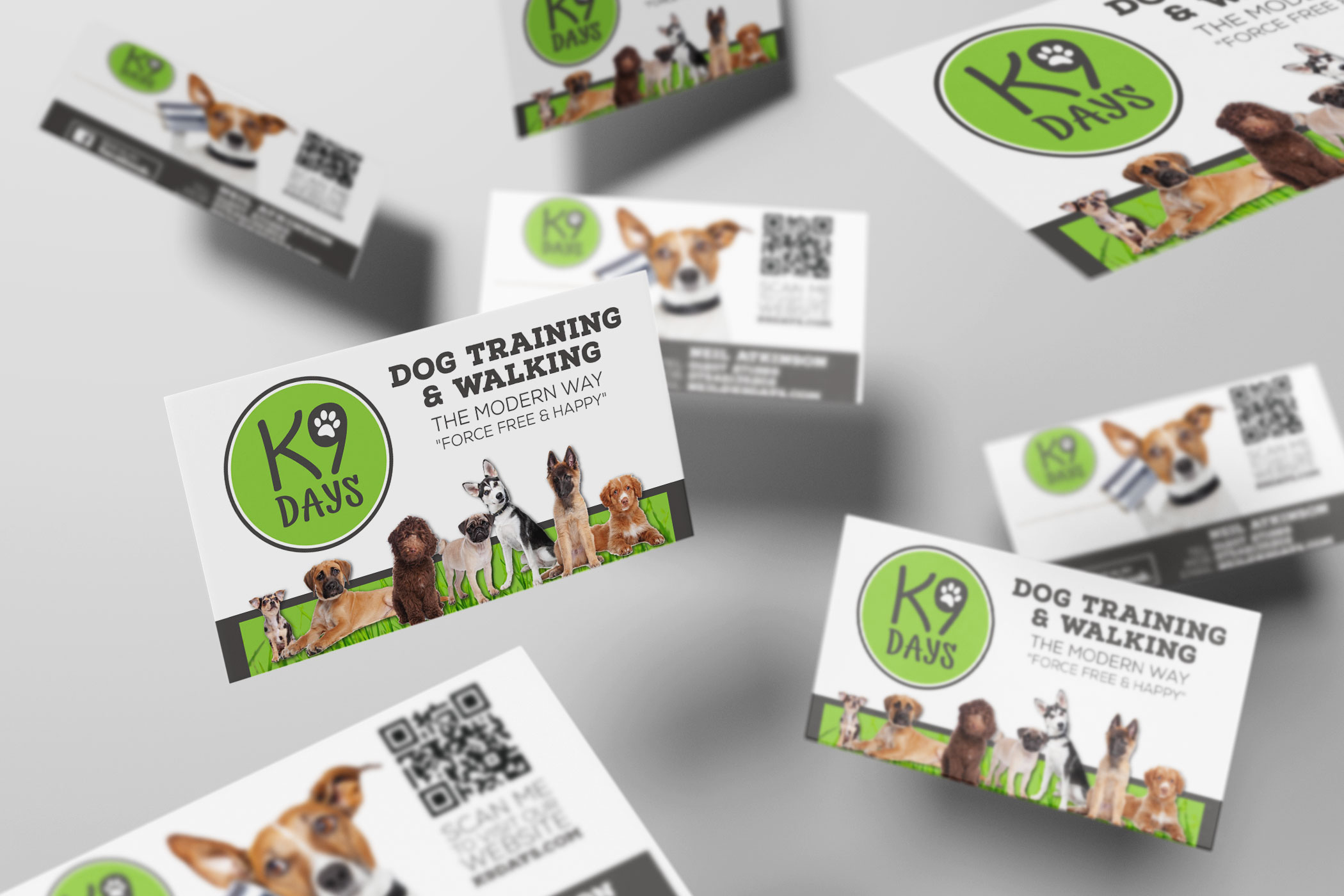 K9 Days - Business Card Design and Print - Firefly New Media