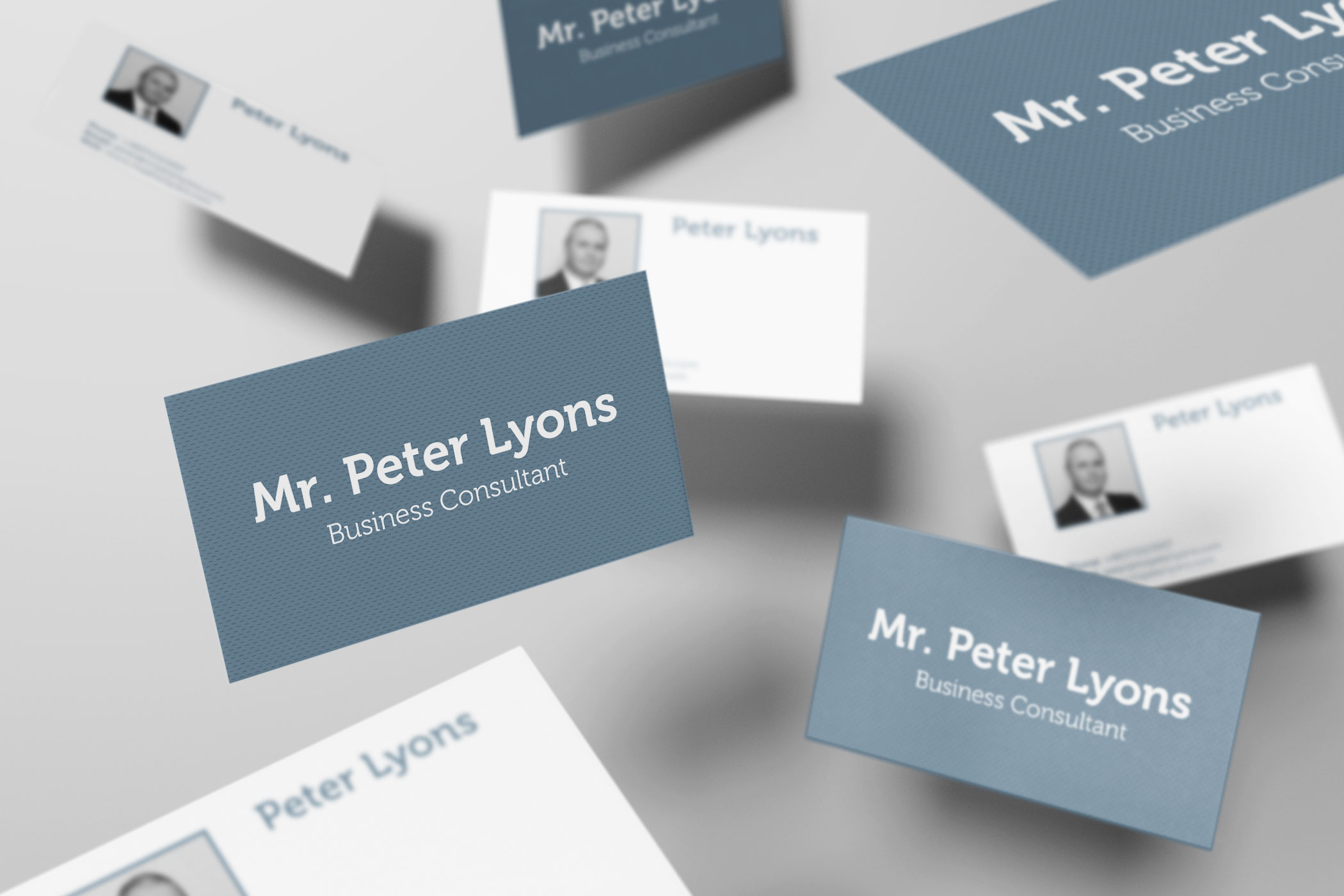 Mr peter lyons business card design and print firefly new media mr peter lyons business card design and print reheart Images