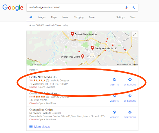 How to Get Local Traffic to Your Website - Firefly New Media UK