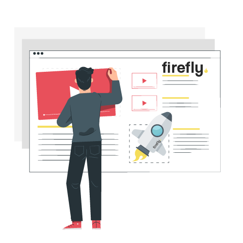 Content Creation - Words, videos or graphics for social media and content marketing - Firefly New Media UK