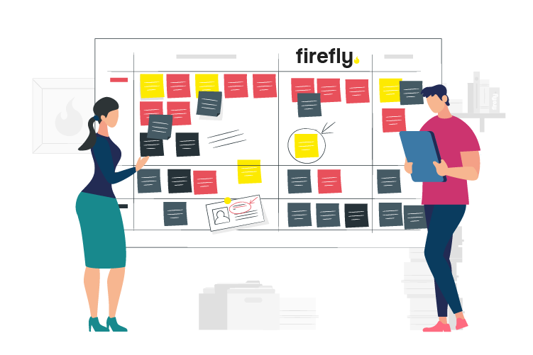Work Hard Not Faster with Firefly and Scrum Project Management - Marketing Team